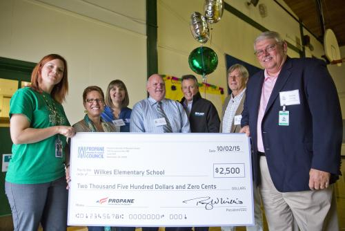 propane education and research council awards 2 500 to wilkes